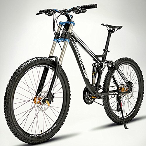 26 Inches Soft Tail Aluminum Alloy Downhill Mountain Bike Double