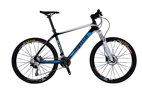 Darter-2016-Toray-T700-Full-Carbon-MTB-Speed-30-Mountain-Bike-Shimano-Deore-Frame-Size-17-0