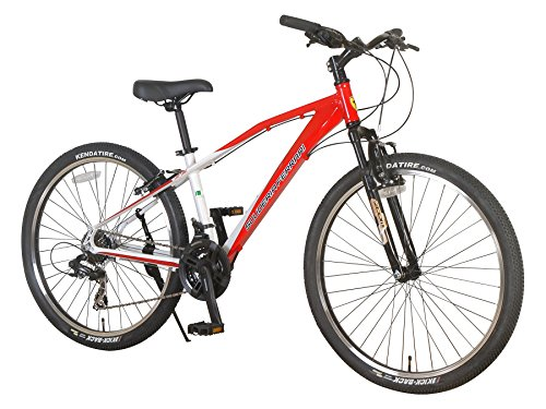 Ferrari-Alloy-MTB-Series-24-speed-Front-Suspension-Mountain-Bicycle-Bike-RedWhite-0