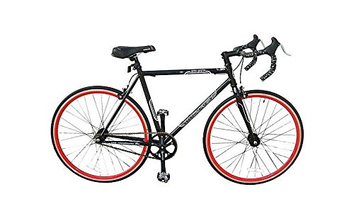 Fixed-Bike-in-Matte-Black-and-Yellow-Finish-0