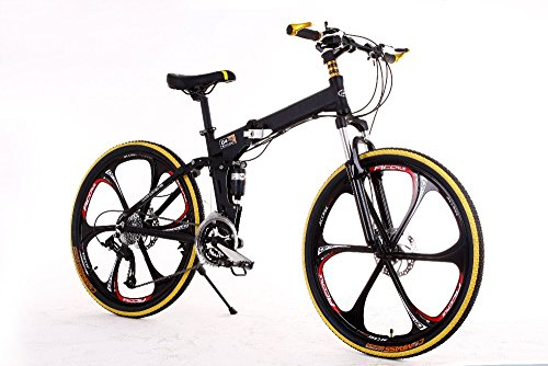 Gracelove-Mountain-bike-24-3x8-speed-double-damping-double-disc-brake-folding-bike-26-inch-Suspension-Man-Bicycle-26-0