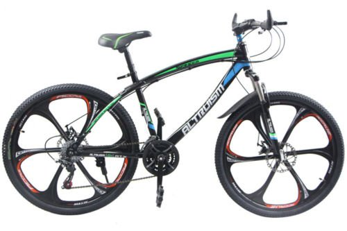 Hot-Sales-Altruism-Xirui-Q101-Mountain-Bike-24-Speed-26-Inch-Folding-Bicycle-Blue-0