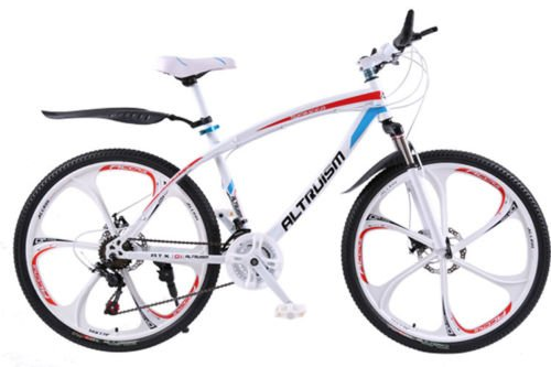 Hot-Sales-Altruism-Xirui-Q101-Mountain-Bike-24-Speed-26-Inch-Folding-Bicycle-White-0