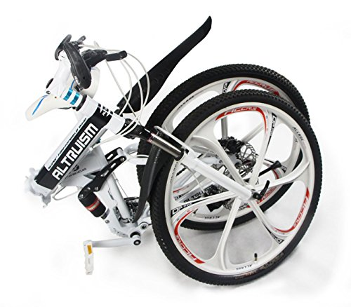 Hot-Sales-Altruism-Xirui-X9-26-Inch-24-Speed-Full-Suspension-Folding-Mountain-Bike-White-0