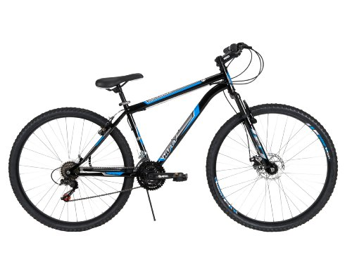 Huffy-Bicycle-Company-Mens-Front-Suspension-Bantam-Bike-Gloss-Black-29-Inch-0