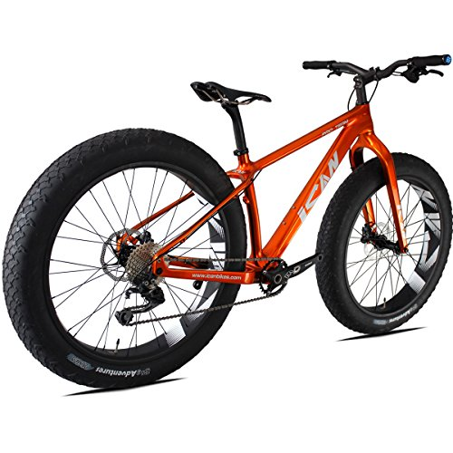 ICAN-26er-Fat-Bike-Carbon-Snowmountain-Road-161820-Inch-BSA-120mm-Shimano-M610-Single-Chain-10-Speeds-0