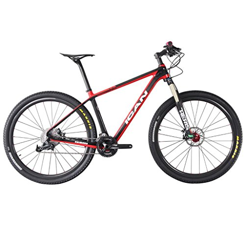 ICAN-29er-Carbon-Mountain-Bike-161820-Hardtail-SRAM-X5-Spinner-Fork-135mm-Travel-0