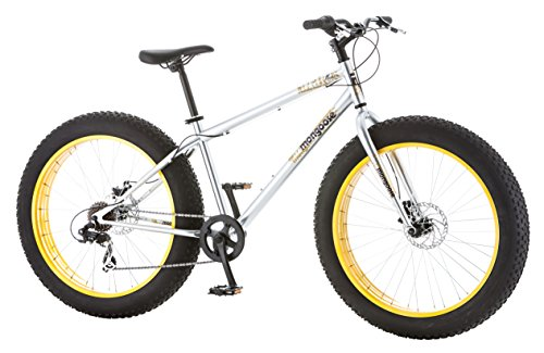 Mongoose-Mens-Malus-Fat-Tire-Bicycle-with-26-Wheels-Silver-18Medium-0