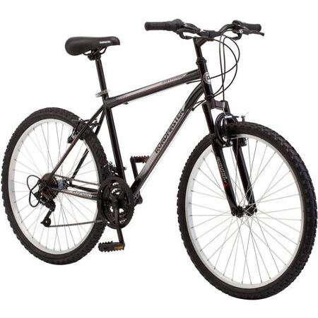 Mountain-Bikes-26-inch-Extra-Sturdy-Outdoors-Exercise-Mens-Bicycle-18-Speed-Durable-Mountain-Bike-Men-For-Sale-roadmaster-Granite-Peak-Sports-Mountain-Bike-for-Women-Black-Bicycles-Men-and-Women-Built-0