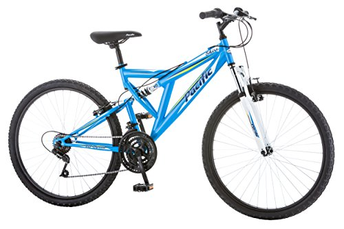 Pacific-Womens-Shire-Full-Suspension-Bicycle-with-26-Wheels-Blue-16Small-0