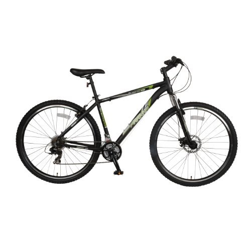 Piranha-Arsenal-17-Hardtail-Mountain-Bike-29-inch-Wheels-17-inch-Frame-Mens-Bike-BlackGreen-0