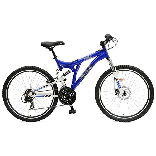 Polaris-RMK-Full-Suspension-Mountain-Bike-26-inch-Wheels-185-inch-Frame-Mens-Bike-Blue-0