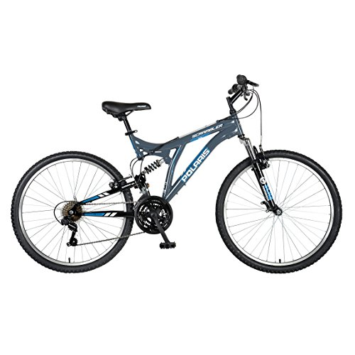 Polaris-Scrambler-Full-Suspension-Mountain-Bike-26-inch-Wheels-195-inch-Frame-Mens-Bike-Grey-0