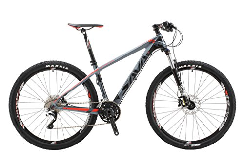SAVADECK-700-Carbon-Fiber-Mountain-Bike-27529-Complete-Hard-Tail-MTB-Bicycle-22-Speed-SHIMANO-8000-DEORE-XT-Manituo-M30-Suspension-Fork-Maxxis-Tire-0