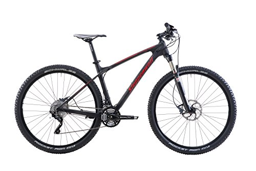 Steppenwolf-Mens-Tundra-Carbon-Team-LTD-Hardtail-Mountain-Bike29-inch-wheels-20-inch-frame-Mens-Bike-BlackRed-99-assembled-0