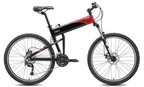Swissbike-X70-30-Speed-Folding-Mountain-Bike-18-Black-with-Red-Accents-0