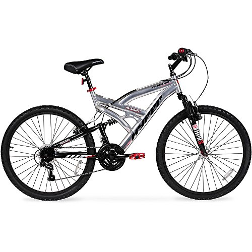 26-Hyper-Summit-Mens-Mountain-Bike-Silver-Aluminum-Frame-Bicycle-Shimano-Equipped-26-inch-Full-Suspension-0