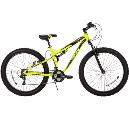 275-Huffy-56946-21-Speeds-Padded-Saddle-Seat-Mens-30-Volt-Carnage-Mid-Fat-Plus-Tire-Mountain-Bike-Yellow-Color-0