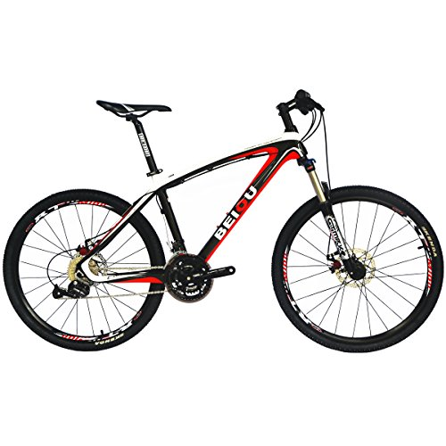 BEIOU-Bicycles-Hardtail-Mountain-Bike-26-Inch-Shimano-3x9-Speed-SRAM-Brake-Ultralight-Complete-Carbon-MTB-Frame-Ready-Ride-CB014A-0
