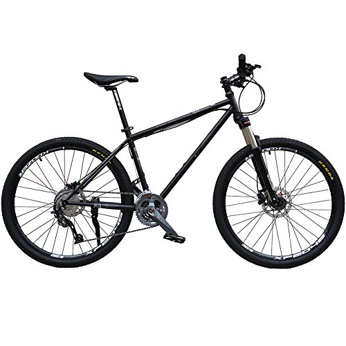 Cyrusher-AM520-Black-Steel-Frame-17-26-Mens-Mountain-Bike-Shimano-ALIVIO-27-Speeds-Hydraulic-Disc-Brake-13-KG-0