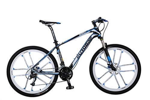 Cyrusher-EB980-Blue-Carbon-Fiber-Frame-17-X-26-In-Mans-Mountain-Bike-Shimano-M370-27-Gears-Hydraulic-Disc-Brake-0