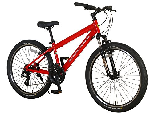 Ferrari-Alloy-MTB-Series-21-Speed-Mountain-Bicycle-Bike-Red-0