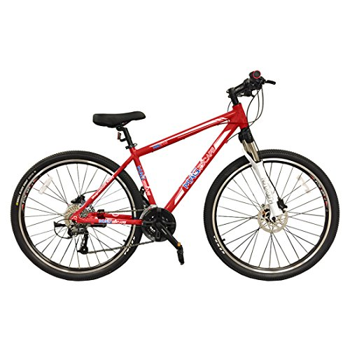MagStar-ESCAPE-Magnesium-Frame-27-Speed-275-Mountain-Bike-Glossy-Red-0