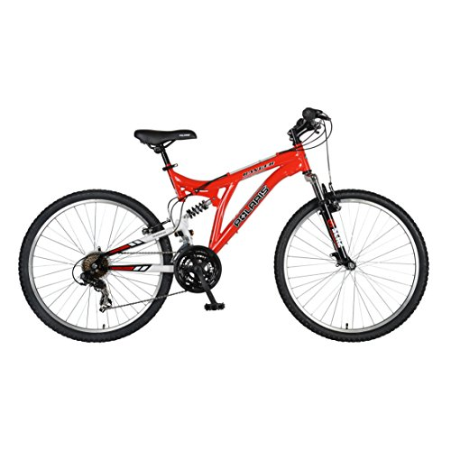 Polaris-Ranger-Full-Suspension-Mountain-Bike-26-inch-Wheels-18-inch-Frame-Mens-Bike-Red-0