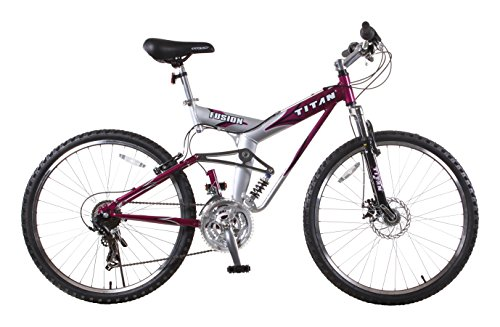Titan-Fusion-PRO-Alloy-Dual-Suspension-All-Terrain-21-Speed-18-Inch-Frame-Mountain-Bike-Purple-0