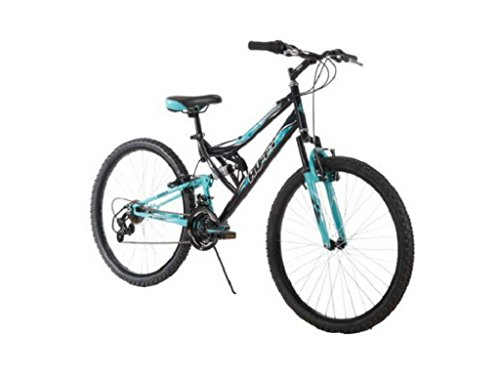 26-Inch-Huffy-Womens-Trail-Runner-Mountain-Bike-Dual-Suspension-Frame-and-Suspension-Fork-Black-0