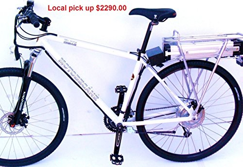 Bistro-Electric-bike-52v-15ah-Suspension-700c-Hybrid-disc-27speed-19-frame-white-or-black-0