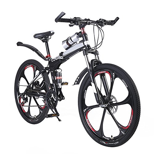 OPATER-26-24-Speed-Dual-Suspension-Mountain-Bike-Ultra-Light-Portable-MTB-with-Magnesium-Alloy-6-Spokes-Integrated-Wheel-0