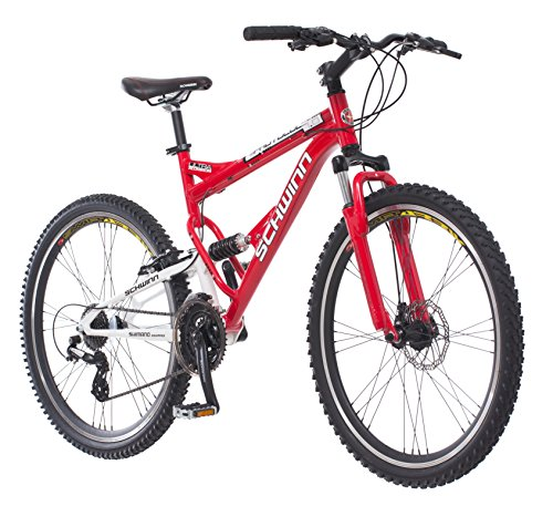 Schwinn-Protocol-10-Mens-Dual-Suspension-Mountain-Bike-26-Inch-Wheels-Red-0