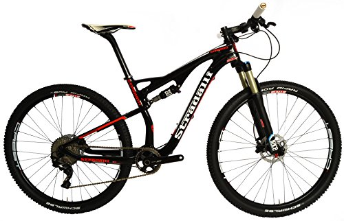 Stradalli-29er-Red-Edition-Full-Carbon-Fiber-Dual-Suspension-Cross-Country-XC-Mountain-Bike-Shimano-XT-M8000-11-Speed-X-Fusion-Suspension-Stans-ZTR-Crest-Tubeless-Ready-Wheelset-0
