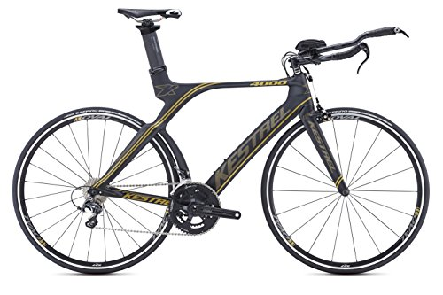 Kestrel-4000-Shimano-Ultegra-Bicycle-Satin-BlackGold-55cmMedium-0