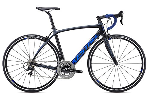 Kestrel-Legend-Shimano-105-Bicycle-Satin-CarbonBlue-Gray-55cmMedium-0