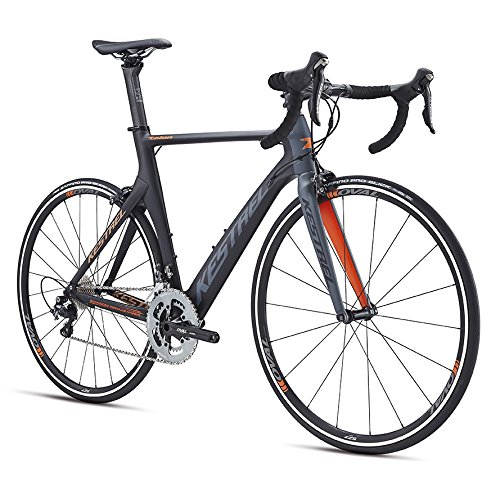 Kestrel-Talon-Road-Shimano-Ultegra-Bicycle-Satin-BlackGray-Blue-57cmLarge-0