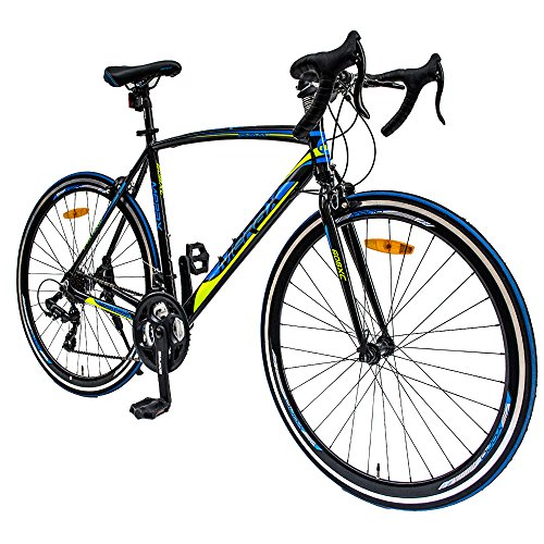 Merax-608XC-21-Speed-700C-Aluminum-Road-Bike-Racing-Bicycle-0