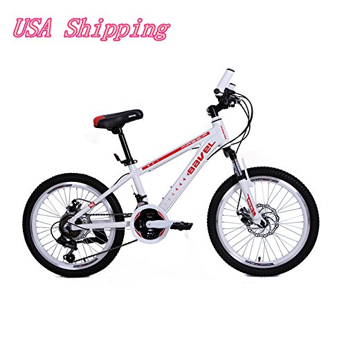 Bavel-Children-Kids-Bicycle-18-Speed-Complete-Mountain-Bike-Aluminum-Alloy-Frame-20-Inch-Wheelwhite-0