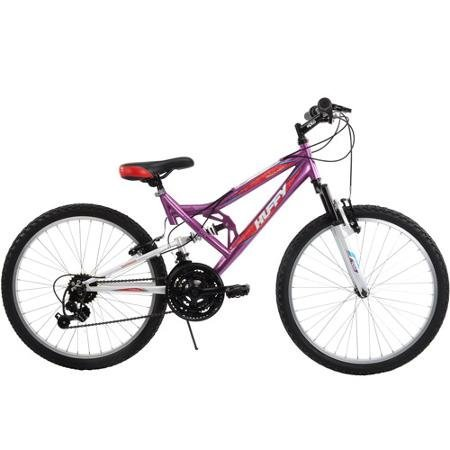 Best-Seller-Mountain-Bike-for-Girls-24-Huffy-Girls-Trail-Runner-Mountain-Bike-Padded-Saddle-with-Quick-Release-Binder-for-Easy-Adjustments-0