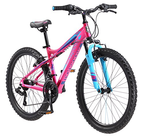 Mongoose-Girls-Silva-Mountain-Bicycle-Pink-24-Wheel-13Small-Frame-Size-0