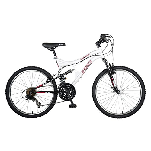 Polaris-Ranger-Full-Suspension-Mountain-Bike-24-inch-Wheels-17-inch-Frame-Girls-Bike-White-0