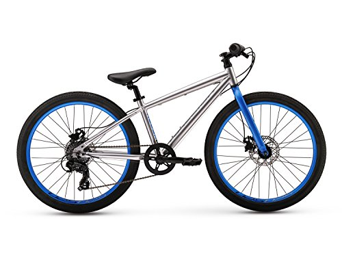 Raleigh-Bikes-Redux-24-Kids-Urban-Assault-Bike-24-Wheels-Silver-24-One-Size-0