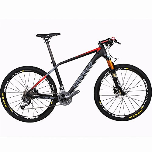 Costelo-ATTACK-bicycle-MTB-Frame-carbon-Bicylce-Mountain-Bike-Ultralight-275-MTB-Frame-Original-Groups-Wheels-Saddle-Bar-Tire-0