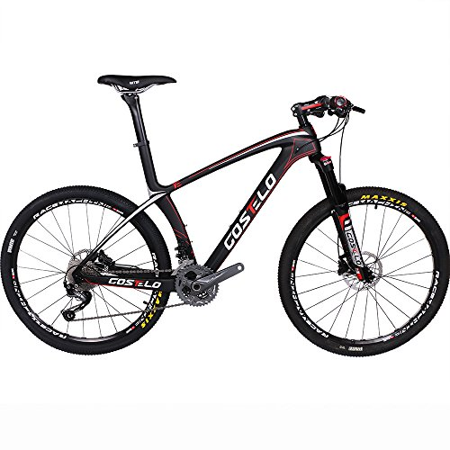 Costelo-Ultimate-99-Bicycle-MTB-Frame-carbon-Bicylce-Mountain-Bike-275-650B-MTB-Frame-Original-Groups-Wheels-Saddle-Bar-Tire-0