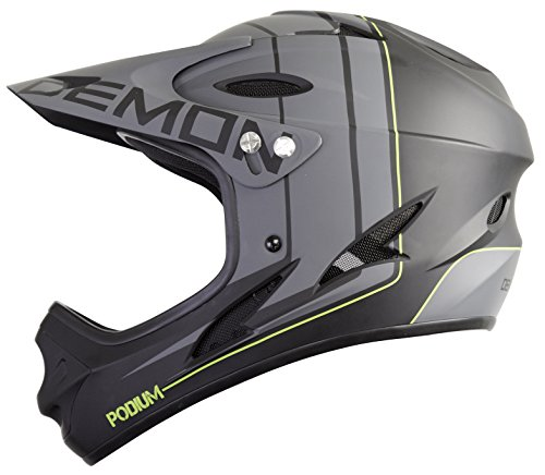Demon-Podium-Full-Face-Mountain-Bike-Helmet-Black-L-0