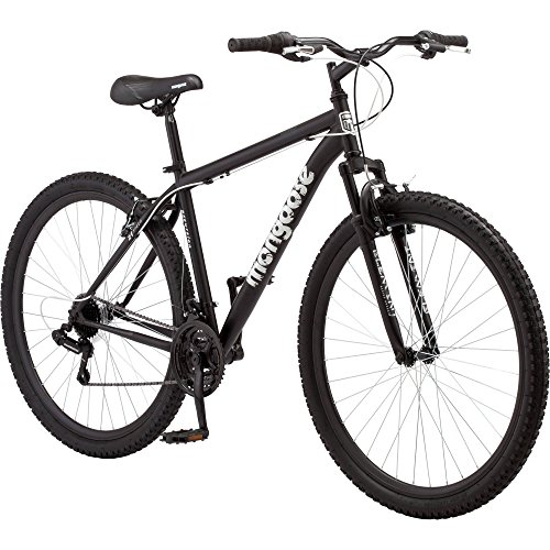 Durable-Steel-Frame-29-Mens-Excursion-Mountain-Bike-Black-0