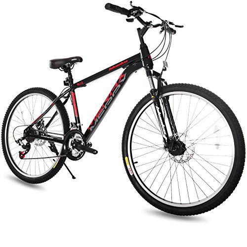Merax-Dual-Disc-Brakes-21-Speed-Hardtail-Mountain-Bike-26-inch-Black-26-inch-0