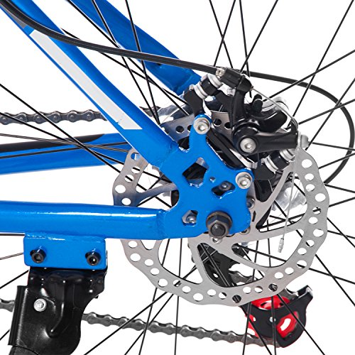 Merax-Dual-Disc-Brakes-21-Speed-Hardtail-Mountain-Bike-26-inch-Blue-26-inch-0-1