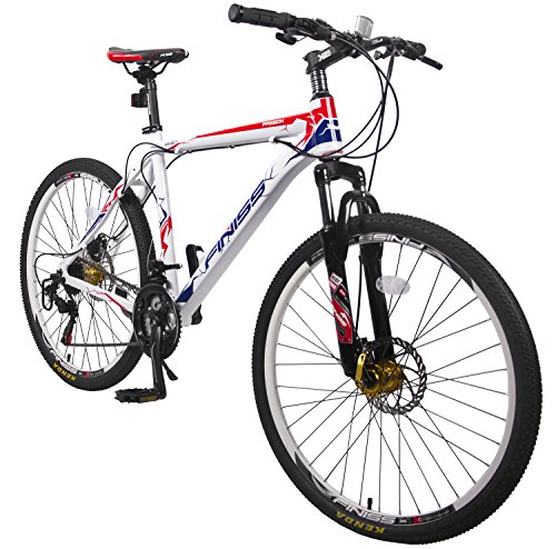 Merax-Finiss-26-Aluminum-21-Speed-Mountain-Bike-with-Disc-Brakes-Passion-WhiteRed-0